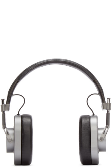 Master & Dynamic - Gunmetal & Black MH40 Headphones