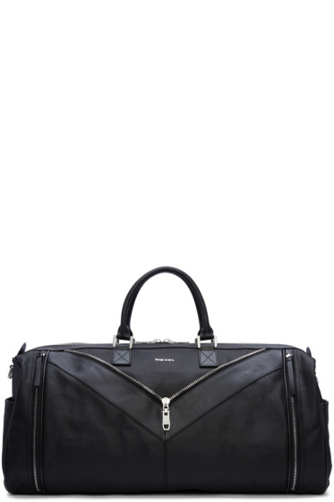 Diesel - Black Mr. V Duffle Bag