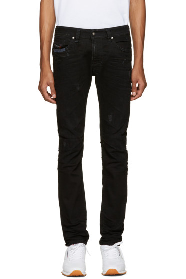 Diesel - Black Thavar Wash Jeans