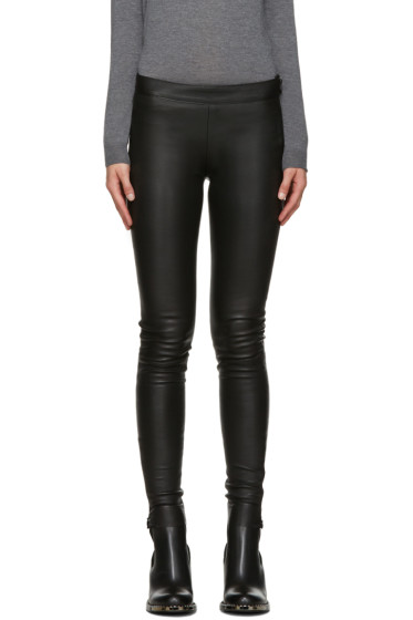 Mackage - Black Stretch-Leather Leggings