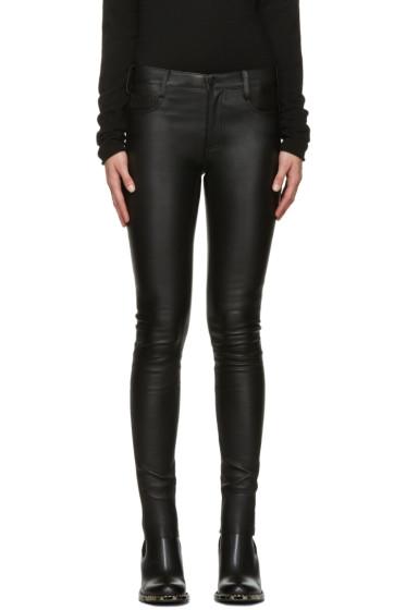 Mackage - Black Leather Skinny Trousers