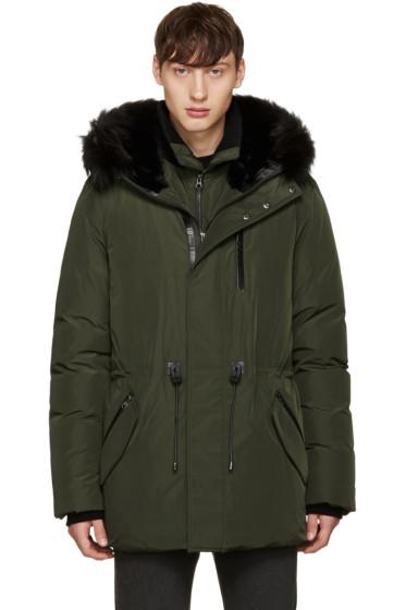 Mackage - Green Down Brodny Coat