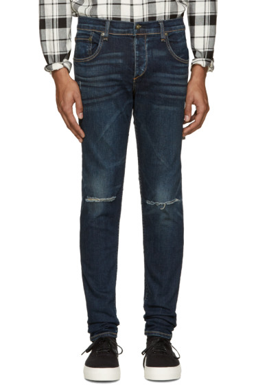 Rag & Bone - Indigo Standard Issue Fit 1 Jeans