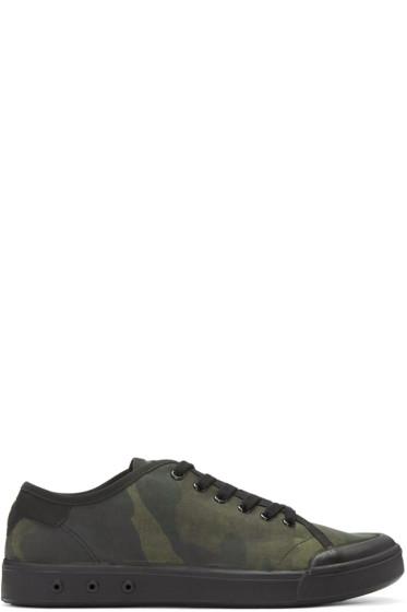 Rag & Bone - Green Standard Issue Camo Sneakers