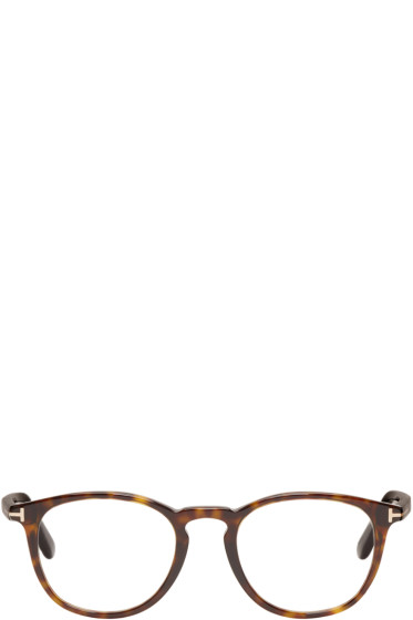 Tom Ford - Tortoiseshell TF5401 Optical Glasses
