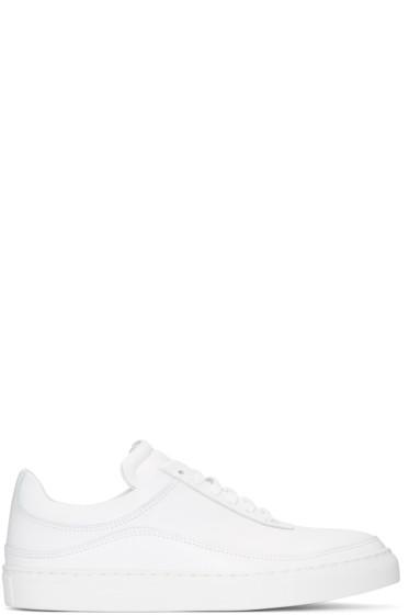 Public School - White Braeburn Sneakers