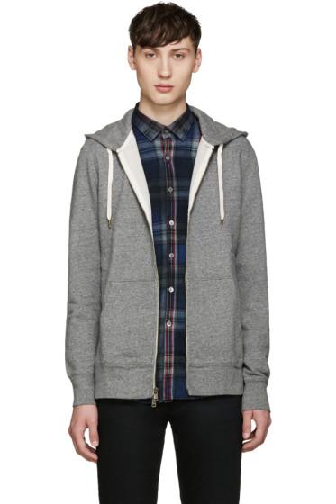 Levi's - Grey Original Zip-Up Hoodie