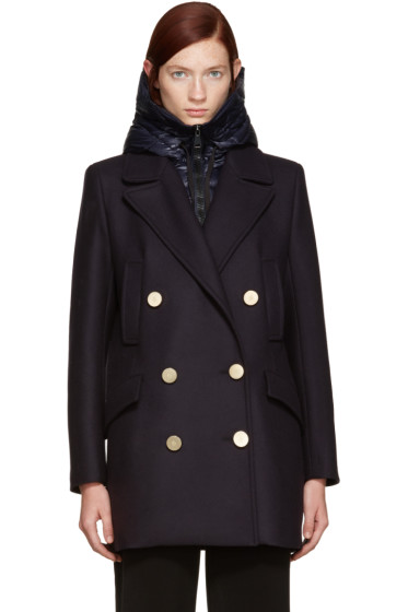Moncler - Navy Galatea Peacoat