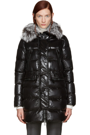 Moncler - Black Down Aphroditi Coat