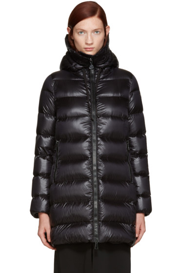 Moncler - Black Down Suyen Coat