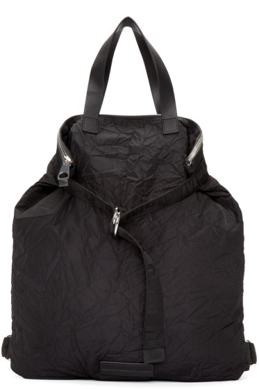 McQ Alexander Mcqueen - Black Nylon Backpack