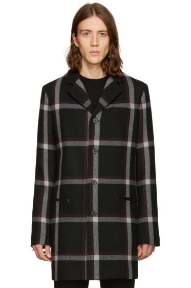 McQ Alexander Mcqueen - Black Wool Curtis Coat