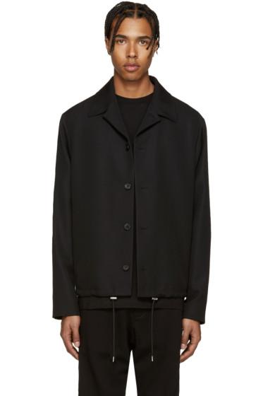 McQ Alexander Mcqueen - Black Wool Aoyama Jacket