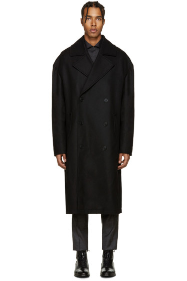Tiger of Sweden - Black Diger Oversized Coat