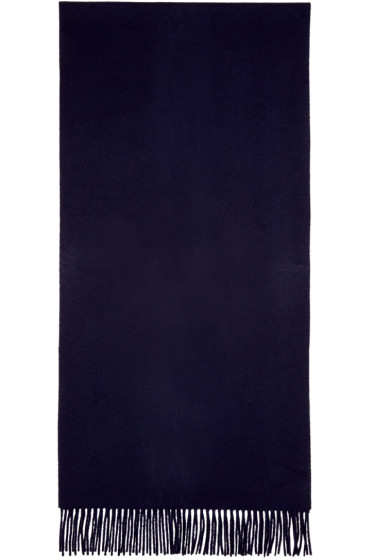 Acne Studios - Navy Canada Narrow Scarf