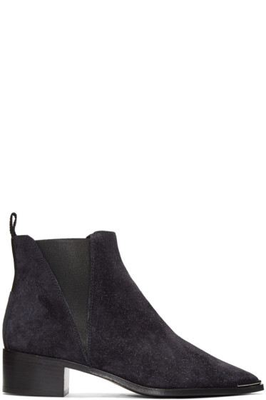 Acne Studios - Navy Jensen Ankle Boots