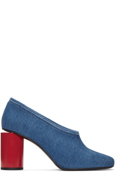 Acne Studios - Blue Denim Amy Heels