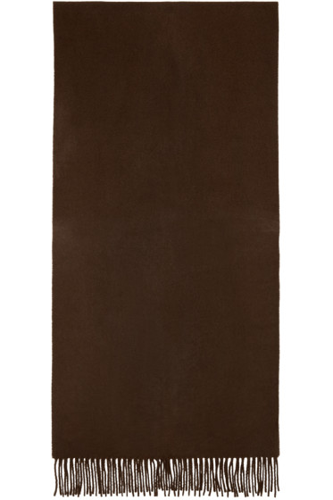 Acne Studios - Brown Canada Narrow Scarf