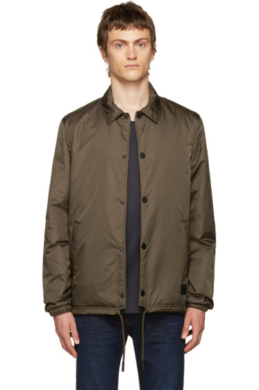 Acne Studios - Green Insulated Tony Face Jacket