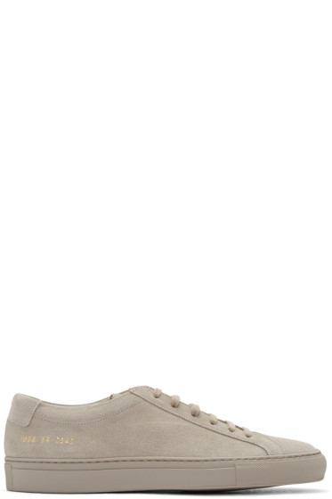 Common Projects - Taupe Original Achilles Sneakers