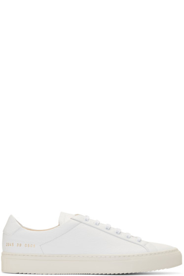 Common Projects -  White Premium Sneakers
