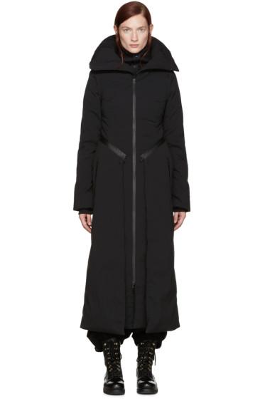 Y-3 - Black Convertible Down Coat
