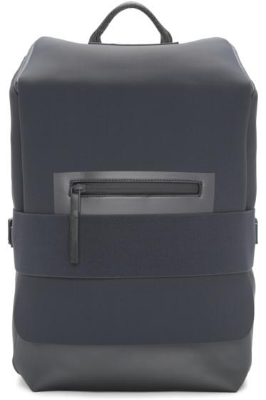Y-3 - Blue & Grey Small Qasa Backpack