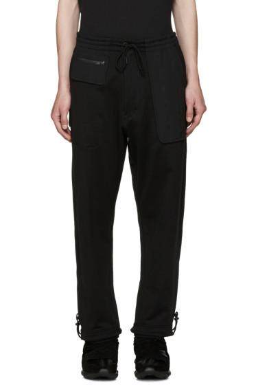 Y-3 - Black FT Mix Lounge Pants