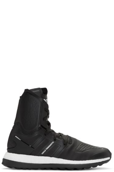 Y-3 - Black Pure Boost ZG High-Top Sneakers
