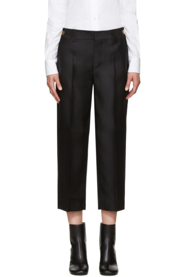 Dsquared2 - Black Wool & Silk Maria Trousers