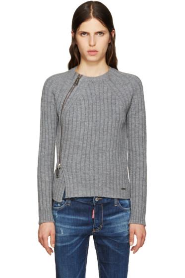 Dsquared2 - Grey Zip Sweater