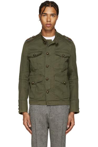 Dsquared2 - Green Golden Arrow Jacket