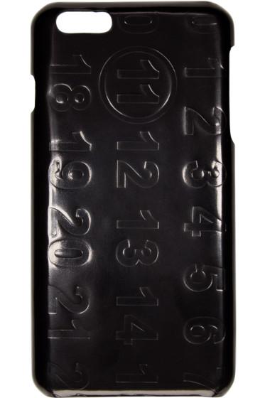Maison Margiela - Black Logo iPhone 6 Plus Case