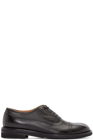 Maison Margiela - Black Leather Oxfords