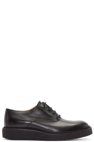 Maison Margiela - Black Lace-Up Creepers