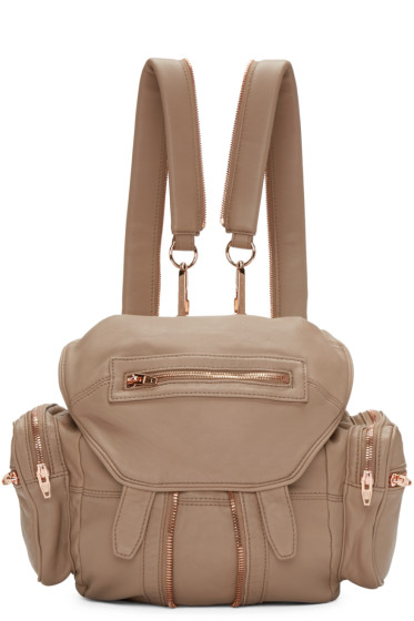 Alexander Wang - Brown Mini Marti Backpack
