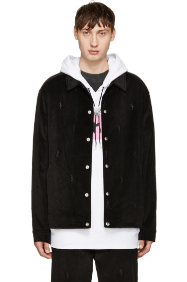 Alexander Wang - Black Corduroy Dancers Jacket
