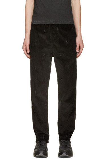 Alexander Wang - Black Corduroy Dancers Trousers