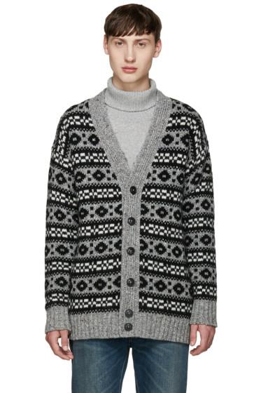 Marc Jacobs - Grey Oversized Icelandic Cardigan