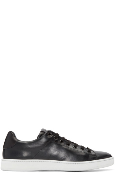 Marc Jacobs - Black Clean Nappa Sneakers