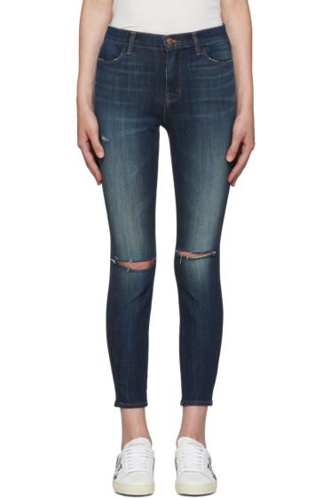 J Brand - Indigo Alana High-Rise Jeans