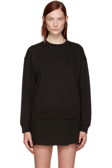 T by Alexander Wang - Black French Terry Pullover