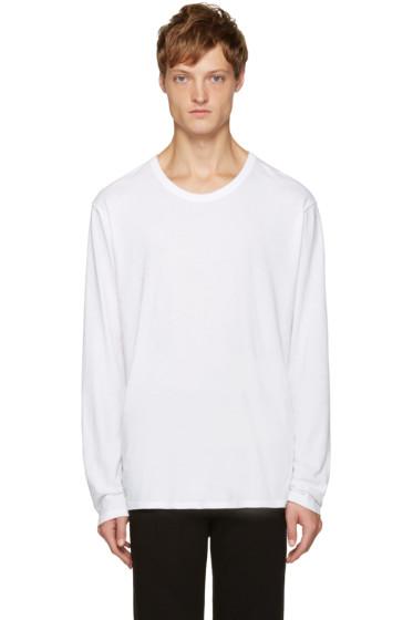 T by Alexander Wang - White Classic T-Shirt