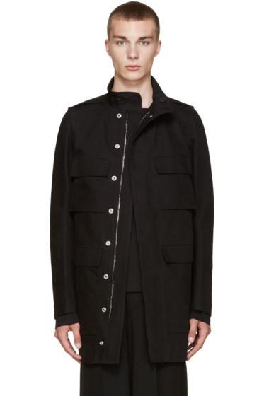 Rick Owens - Black Field Coat