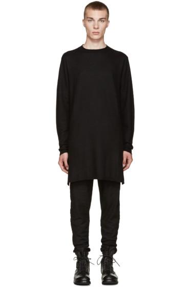 Rick Owens - Black Cashmere Sweater