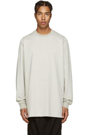 Rick Owens - Grey Overlong Pullover