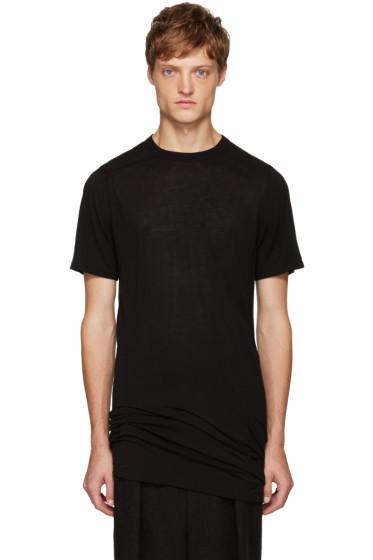 Rick Owens - Black Long T-Shirt