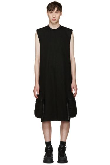 Rick Owens - Black Pannier Cargo Dress