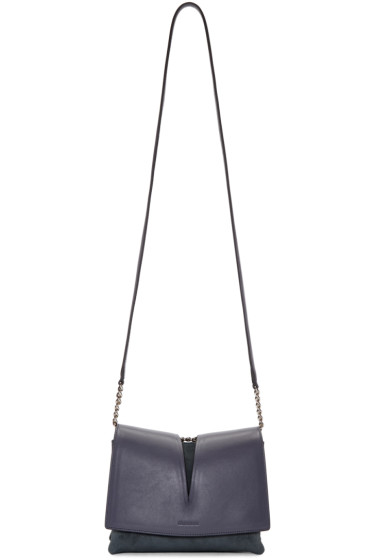 Jil Sander - Grey Suede Small View Bag