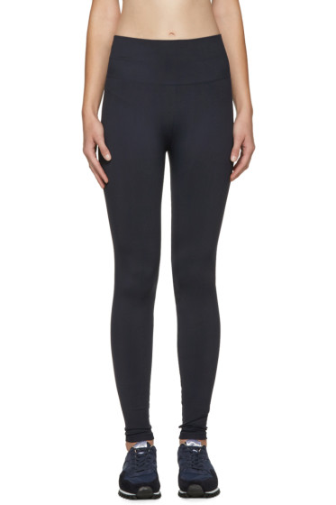 A.P.C. x Outdoor Voices - Navy Seamless Leggings